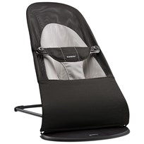 Babybjörn Bouncer Balance Soft Black/Grey Mesh Black