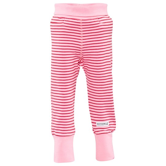 Geggamoja Baby Trousers Classic Pink/Red Pink