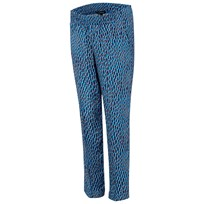 Isabella Oliver Aisla Print Maternity Trousers Blue Dot Print