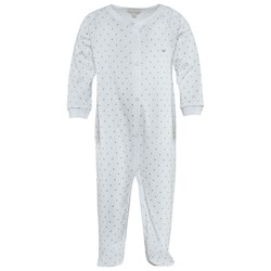 Livly Saturday Simplicity Onsie White/Silver Dots