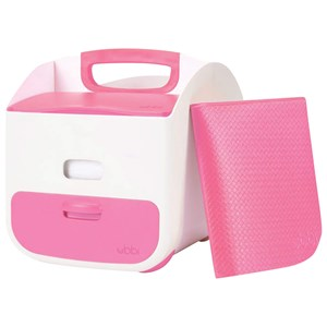 Image of Ubbi Diaper Caddy Pink (2963554999)