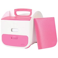 Ubbi Diaper Caddy Pink Pink
