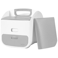 Ubbi Portable Diaper Station Grey Gray
