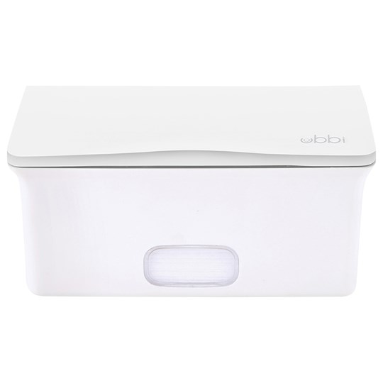 Ubbi Контейнер Wipes Box White Белый