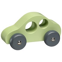 Kids Concept Wooden Cars Set 3 Green Grønn