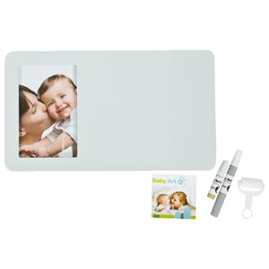 Image of Baby Art Duo Print Paint Frame Pastel (3125343199)