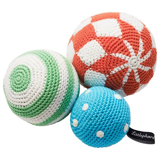 Littlephant Crochet Play Balls Multi