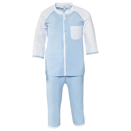 IA BON Boys UV Suit Light Blue Blå