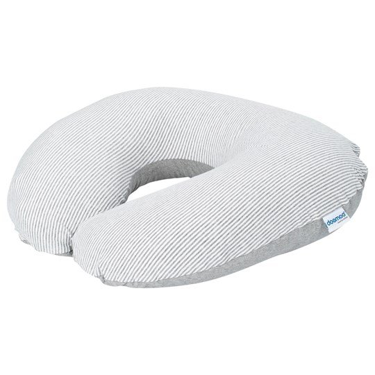 Doomoo Pillow Medium White/Grey Grey