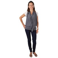 Candide Nursing Top Grey Grey