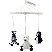 natureZOO Mobil Penguin, Polar Bear, Zebra Black