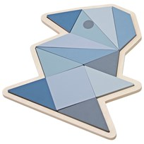 sebra Игрушка Wooden Puzzle Bird Boy Pastel Blue