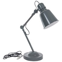 sebra Metal Table Lamp Dark Grey Dark grey