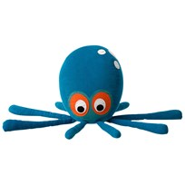 ferm LIVING Octopus Cushion Blue