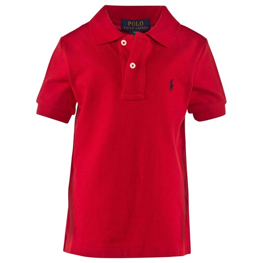 Ralph Lauren Ss Classic Polo New Red Red
