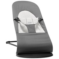 Babybjörn Bouncer Balance Soft Dark Grey/Grey Cotton Grå