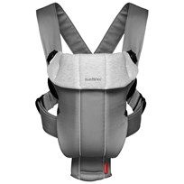 Babybjörn Переноска Baby Carrier Original Dk Grey/Grey Cotton серый
