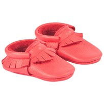 Little Lambo Red Rose Moccasins Red