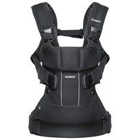 Babybjörn Baby Carrier One Black Cotton Mix Sort
