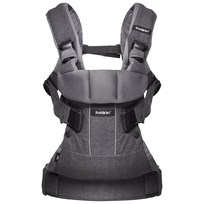 Babybjörn Baby Carrier One Denim Grey Cotton Mix Grey
