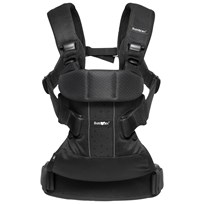 Babybjörn Baby Carrier ONE Air Black Mesh Sort