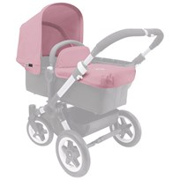 Bugaboo Donkey Tailored Fabric Set Soft Pink Lyserød