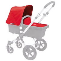 Bugaboo Cameleon³ Tailored Fabric Set Red Rød