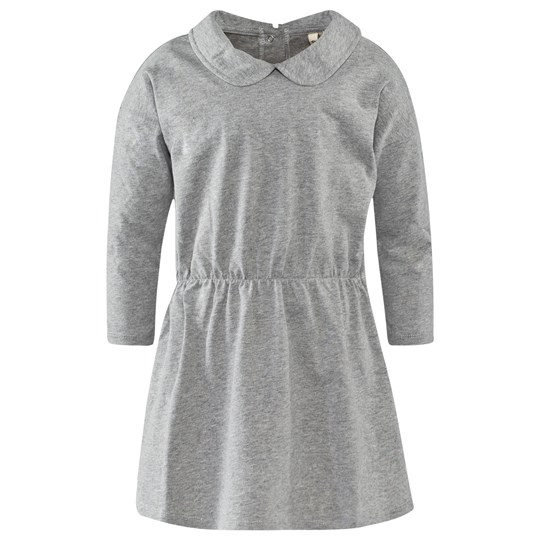 Gray Label Collar Dress Grey Melange Grå