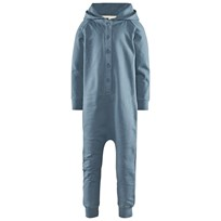 Gray Label Hooded Jumpsuit Denim Blå
