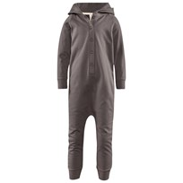 Gray Label Hooded Jumpsuit Dark Grey Grå