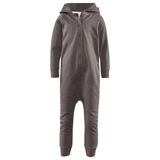 Gray Label Hooded Jumpsuit Dark Grey Grey