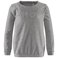 Imps & Elfs T-Shirt Long Sleeve Cosy-/Night Grey Mel. Grey