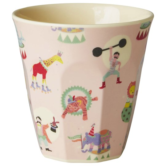 Rice Small Melamine Cup Circus Print Pink