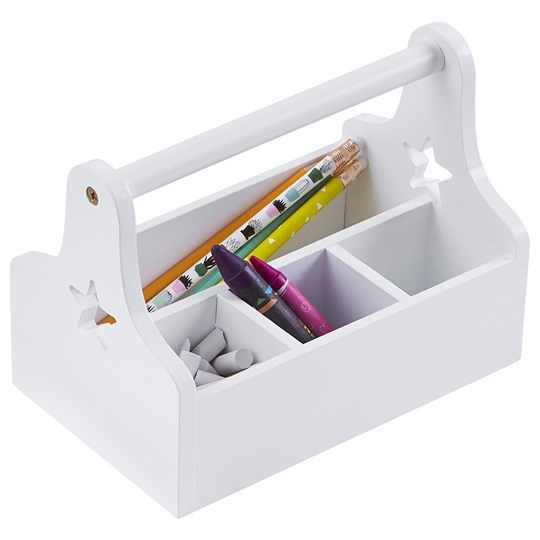 Kids Concept Star Storage Box White White