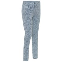 Soft Gallery Paula Junior Leggings Sterling Blue AOP Pebbles Sterling Blue