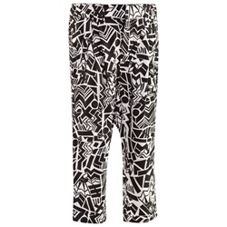 Mexx Black And White Graphic Print Trousers