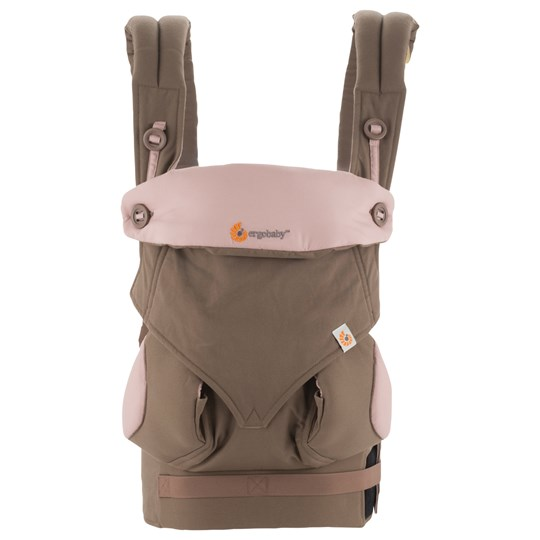 Ergobaby Four Position 360 Taupe/Lilac розовый
