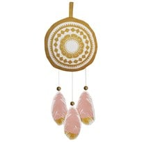 Elodie Details Musical Mobile - Feather Love Small Pinkki