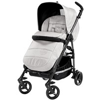Young Versace Young Versace Jacquard Medusa Stroller Pearl Grey Grå