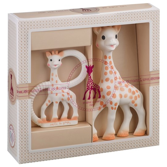 Sophie The Giraffe Sophie-sticated: Sophie and Teething Ring Multi