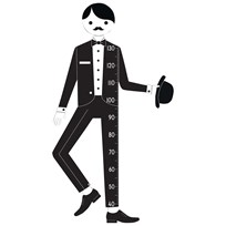 Design Letters Measureman Wallsticker Multi