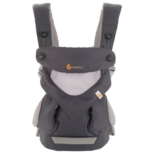 Ergobaby Four Position 360 Cool Air Grey Harmaa