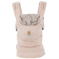 Ergobaby Organic Baby Carrier Rose Harmony Pink