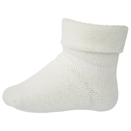 MP Terry Bamboo Baby Socks Off White White
