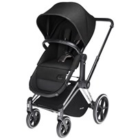 Cybex Priam 2-in-1 Seat Platinum Line Happy Black Sort