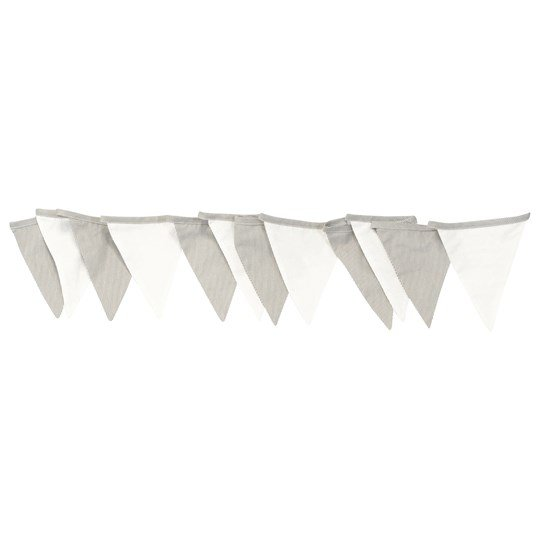 Vinter & Bloom Fine Embroidery Bunting White