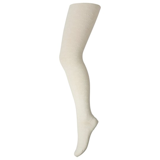 MP Lace Tights Off White White