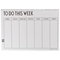 Design Letters Weekly Planner Multi