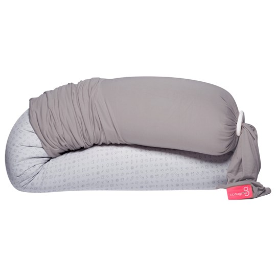 bbhugme Sleeve Stone for Pregnancy & Nursing Pillow™ Grey