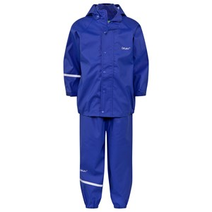 Image of Celavi Basic Rainwear Ocean Blue 110 cm (4-5 år) (379370)